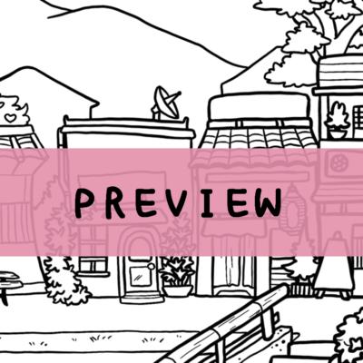 Japan & Netherlands Coloring Pages – Digital Download